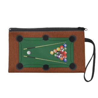Billiards Wristlet