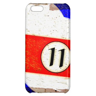 BILLIARDS BALL NUMBER 11 CASE FOR iPhone 5C