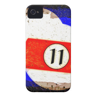 BILLIARDS BALL NUMBER 11 iPhone 4 COVER