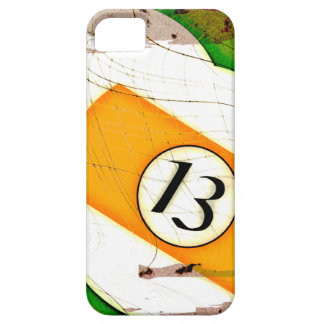 BILLIARDS BALL NUMBER 13 iPhone SE/5/5s CASE
