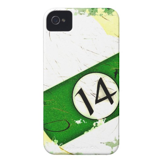BILLIARDS BALL NUMBER 14 Case-Mate iPhone 4 CASE