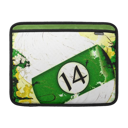BILLIARDS BALL NUMBER 14 SLEEVE FOR MacBook AIR