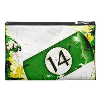 BILLIARDS BALL NUMBER 14 TRAVEL ACCESSORIES BAG