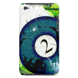 BILLIARDS BALL NUMBER 2 iPod TOUCH COVER