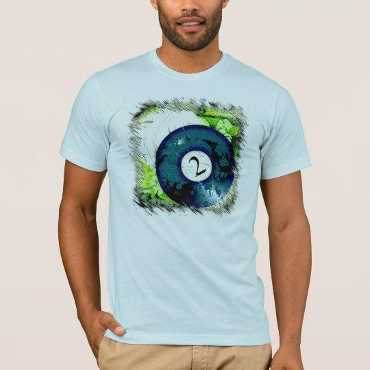 BILLIARDS BALL NUMBER 2 T-Shirt