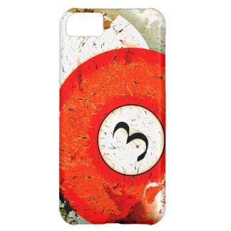 BILLIARDS BALL NUMBER 3 CASE FOR iPhone 5C