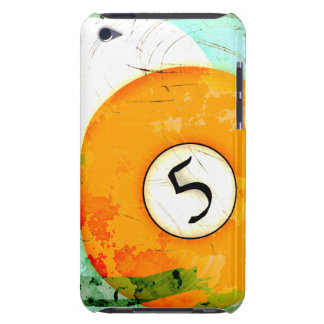 BILLIARDS BALL NUMBER 5 iPod TOUCH COVER