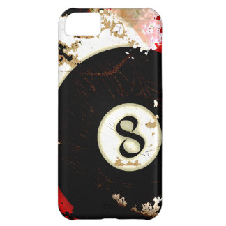 BILLIARDS BALL NUMBER 8 iPhone 5C COVER