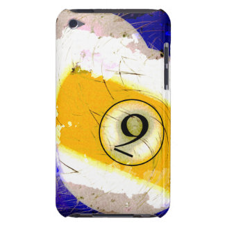 BILLIARDS BALL NUMBER 9 iPod TOUCH CASE
