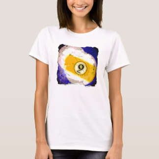 BILLIARDS BALL NUMBER 9 T-Shirt