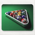 Billiards Balls Mouse Pads