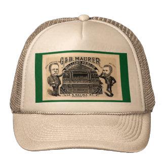 Billiards: Billiard Parlor or Pool Hall Cap or Hat