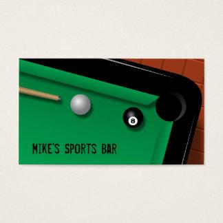 Billiards Business Card