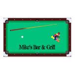 Billiards Business Card Templates