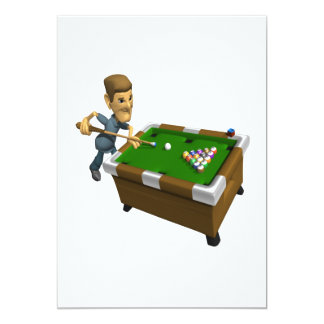 Billiards Card