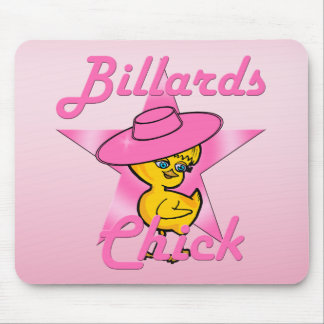 Billiards Chick #8 Mouse Pad