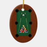 Billiards Christmas Tree Ornament