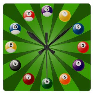 Billiards Clock