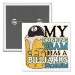 Billiards Drinking Team Button