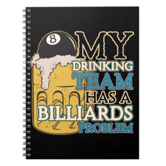 Billiards Drinking Team Notebook