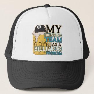 Billiards Drinking Team Trucker Hat