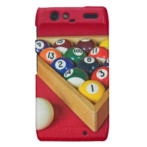 Billiards Droid RAZR Covers