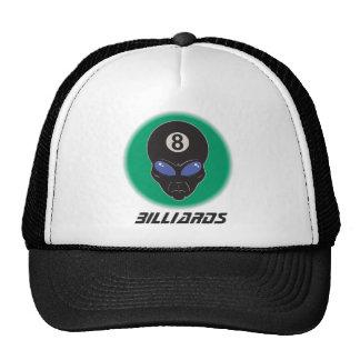 Billiards Eight Ball Alien Trucker Hat