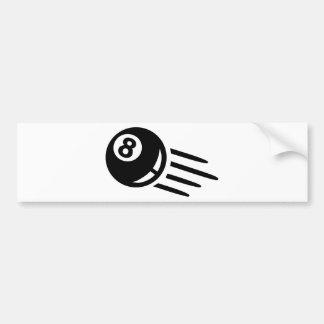 Billiards eight ball bumper stickers