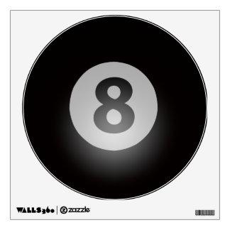 Billiards Eight Ball Wall Decal