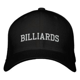 Billiards Embroidered Baseball Cap