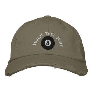 Billiards Embroidered Hat