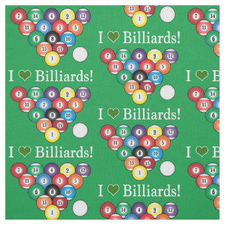 Billiards Fabric