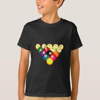 Billiards Full 8-Ball Rack T-Shirt