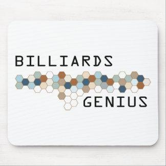 Billiards Genius Mouse Pad