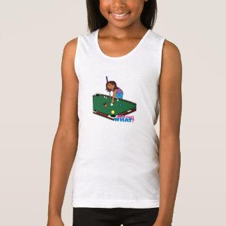 Billiards Girl Dark Tank Top