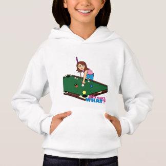 Billiards Girl Hoodie