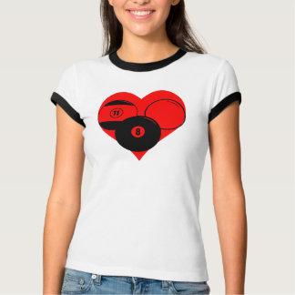 Billiards Heart T-Shirt