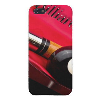 Billiards IPhone Cover- Eight Ball - Cue Stick Case For iPhone SE/5/5s
