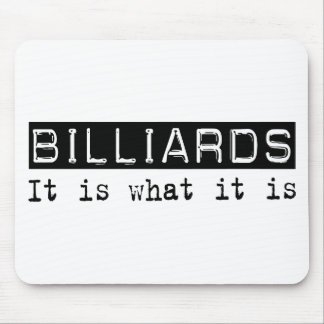Billiards It Is Mouse Pad