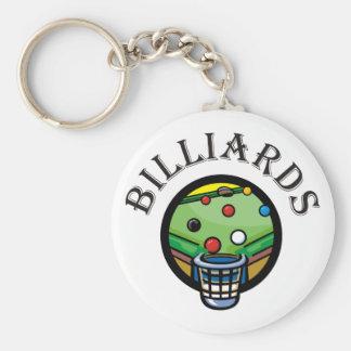 Billiards Keychain