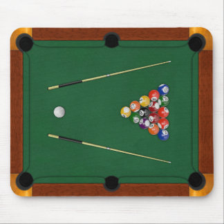 Billiards Mouse Pad