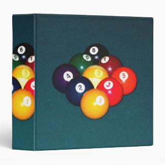 Billiards Nine Ball Binder