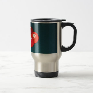 Billiards Nine Ball Travel Mug