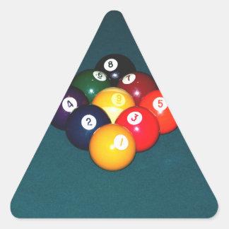 Billiards Nine Ball Triangle Sticker