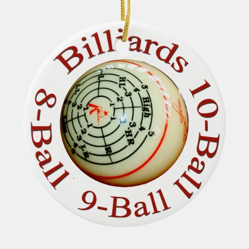 Billiards Ornament
