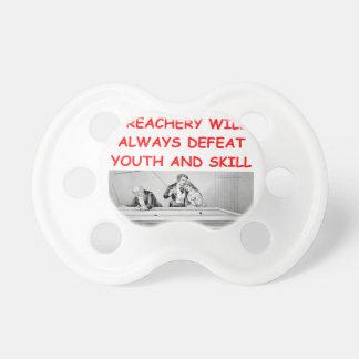 billiards BooginHead pacifier