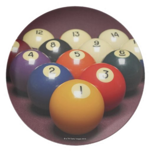 Billiards Plate