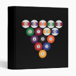 Billiards / Pool Balls: Custom Binder