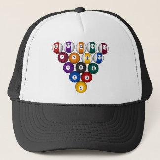 Billiards / Pool Balls - Custom Trucker Hat