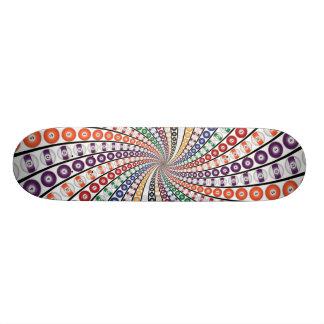 Billiards / Pool Balls Spiral: Skateboard